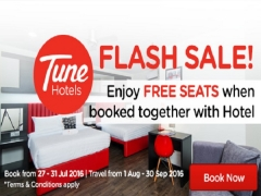 Book Together with Hotel and Get a FREE Seats from SGD82 with AirAsiaGo