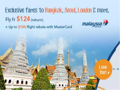 Exclusive Fares to Bangkok, Seoul and more via Zuji from SGD124