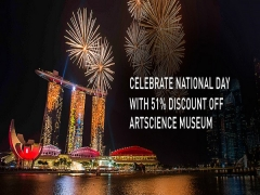 Celebrate Singapore National Day with 51% Discount at ArtScience Museum