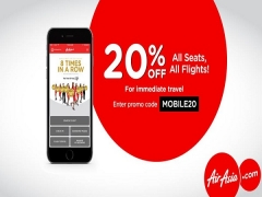20% Off Mobile Exclusive Promo from AirAsia