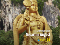 Last Minute Flight Deals with CheapTickets from SGD62