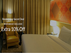 Extra 10% Off with Rendezvouz Secret Deal from Far East Hospitality