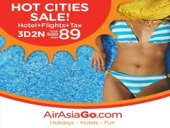 Hot Cities Sale from SGD89 with AirAsiaGo