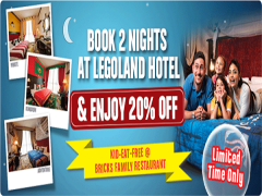 Book 2 Nights To Save 20% OFF at Legoland Malaysia Hotel