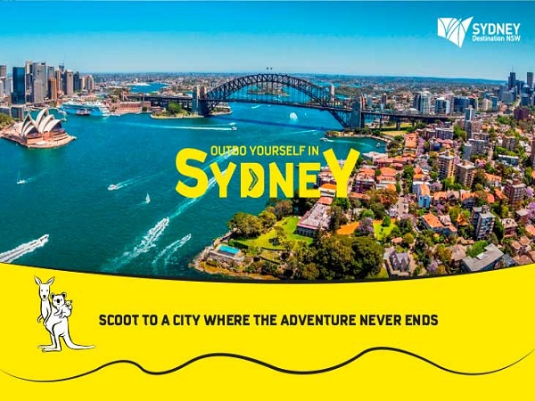 Cheap Air Tickets Deals Scoot To Sydney And Enjoy 15