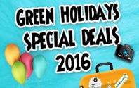[In-House Travel Fair] Green Holidays Special Deals