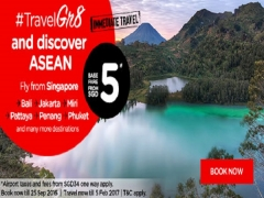 Travel Great and Discover ASEAN with AirAsia from SGD5