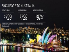 Fly to Australia with Fiji Airways from SGD729