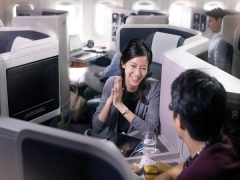 Two-to-Travel Business Class Advance Purchase Fares with Cathay Pacific