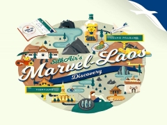 WIN Economy Return Tickets to Laos from Silkair