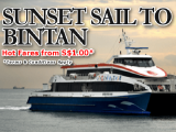 Hot Fares with Bintan Resorts Ferries!