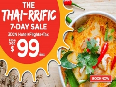 The Thai-rrific 7-Day Sale is here! Book via AirAsiaGo from SGD99