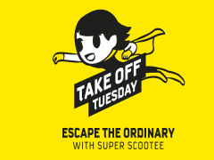 Escape the Ordinary and Scoot from SGD49 this Tuesday