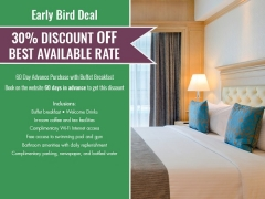 Early Bird Deal with 18% Discount at The Royale Bintang Penang