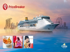NTUC Member enjoy FREE Cabin Upgrade and FREE Luggage at Costa Victoria Cruise