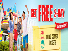 Kids Go FREE in Legoland Malaysia this October