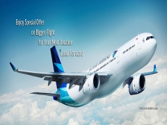 Enjoy Special Offer to Jakarta with Garuda Indonesia from SGD388