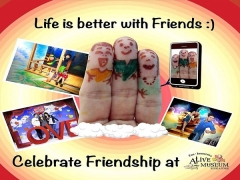 Friendship Combo Ticket at Alive Museum Siingapore for SGD50 only!