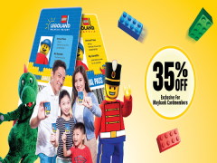 Enjoy 35% Off on Legoland's Annual Pass with Maybank