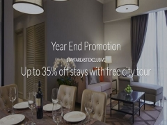 Up to 35% Off Stays with Free City Tour via Far East Hospitality