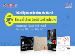 Save Up to 30% Off Flight with China Eastern and Bank of China