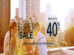 Hotel Super Sale with 40% Savings via Ibis