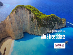 Stand a Chance to Win 2 Qatar Airways any Destinations Tickets via CheapTickets