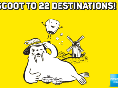 Scoot to 22 Destinations with American Express Cards