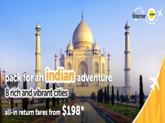 Explore More of India on Flights with Tigerair from SGD198*