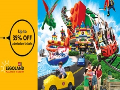 Save Up to 35% Off Admission Tickets to Legoland Malaysia with Maybank