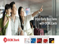 Early Bird Special Offer with Singapore Airlines and OCBC Cards