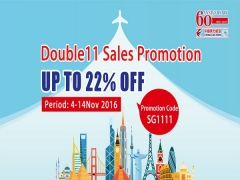 Double 11 Sales Promotion from China Eastern with Up to 22% Savings