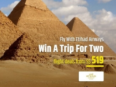 WIN a Trip for Two with Etihad Airways from CheapTickets.sg