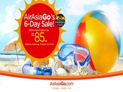 Enjoy Great Sale Getaway from SGD85 with AirAsiaGo