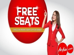 Grab your FREE Seats Now with AirAsia!