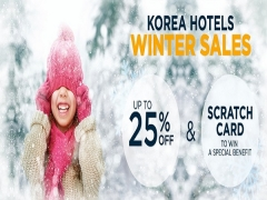 Up to 25% Off Korea Winter Special with Accorhotels