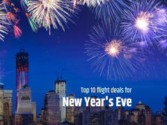 New Year's Eve Flight Deals to Welcome 2017 with CheapTickets.sg