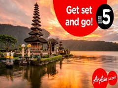 Get Set & Go! Explore Asia and Beyond with Airasia from SGD5