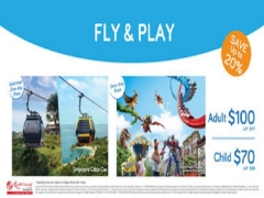 Enjoy 20% Savings on Singapore Cable Car and Universal Studios Combo Deal