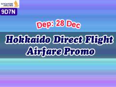 Hokkaido Airfare Promotion