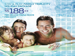 Family Triplicity in Bay Hotel Singapore from SGD188