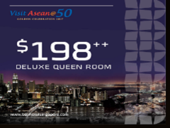 Visit ASEAN@50 with Bay Hotel Singapore from SGD198