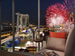 Fireworks by the Bay with Complimentary Breakfast this New Year at Pan Pacific Singapore