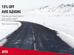 Have a Modern Sleigh on Avis this Holiday with 15% Savings