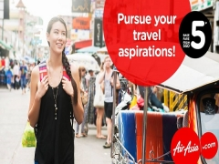 Pursue Happiness with Flights on AirAsia from SGD5