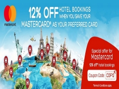 Enjoy 12% Off your Hotel Bookings with Hotels.com and MasterCard