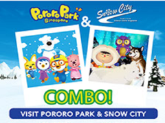 Pororo Park Singapore & Snow City Combo at SGD44