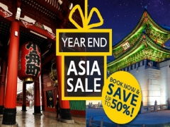 Limited Time Offer from Expedia | Year End Asia Sale Package