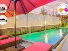 $76 for Two Pax 3D2N The Swaha Bali Hotel Deluxe Studio Stay with Breakfast & Airport Transfer