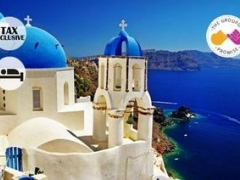 Santorini, Greece: From $151 for 4D3N Blue Diamond Bay Double Room Stay with Breakfast